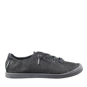 Black Roxy uniform slip on soft sneaker 3